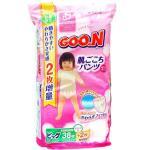 Японские трусики-подгузники Goo.N (Гун) для девочек, 12-20 кг, 40 шт